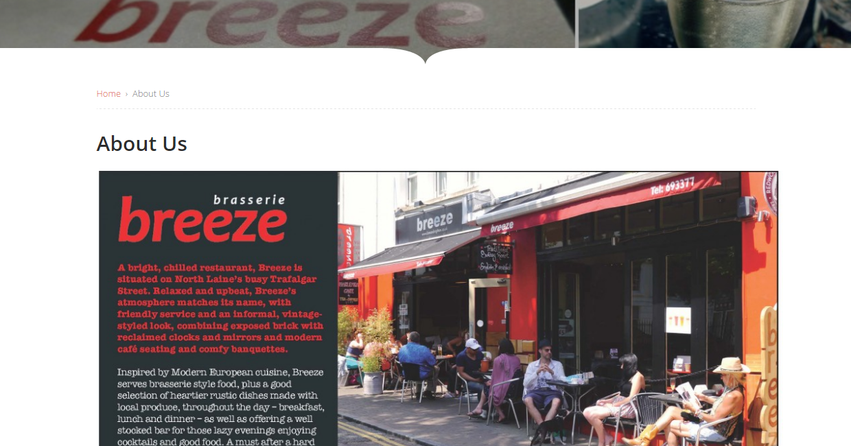 Top Restaurants in Brighton   Breeze Brasseriebreeze2